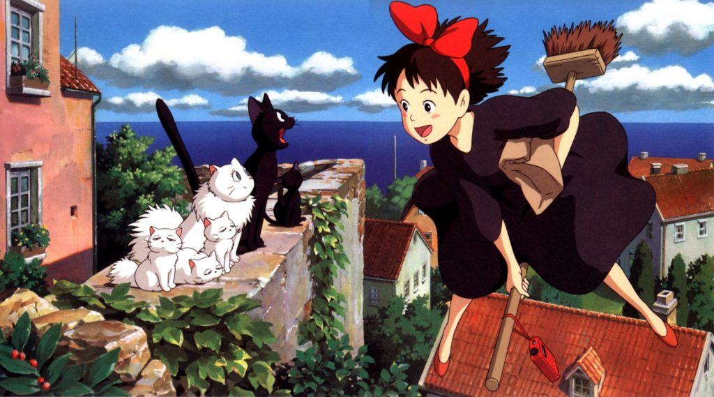 """Una scena di """"Kiki - Consegne a domicilio"""""""