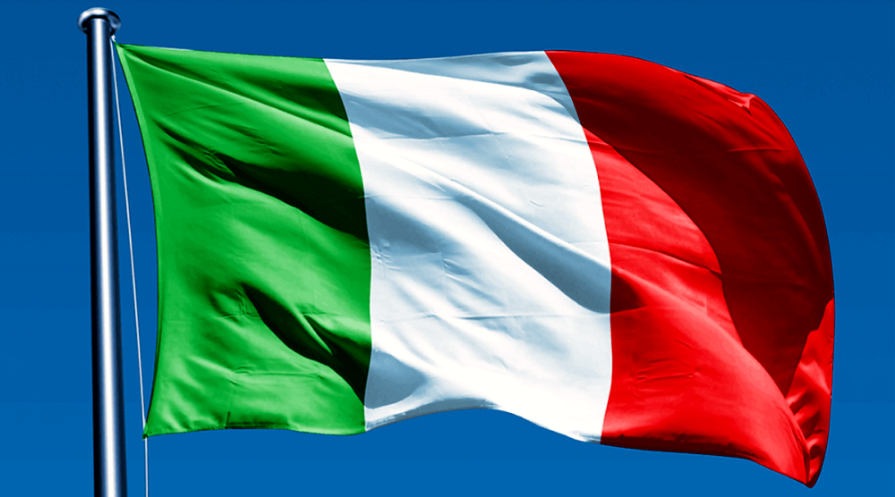 Bandiera italiana tricolore