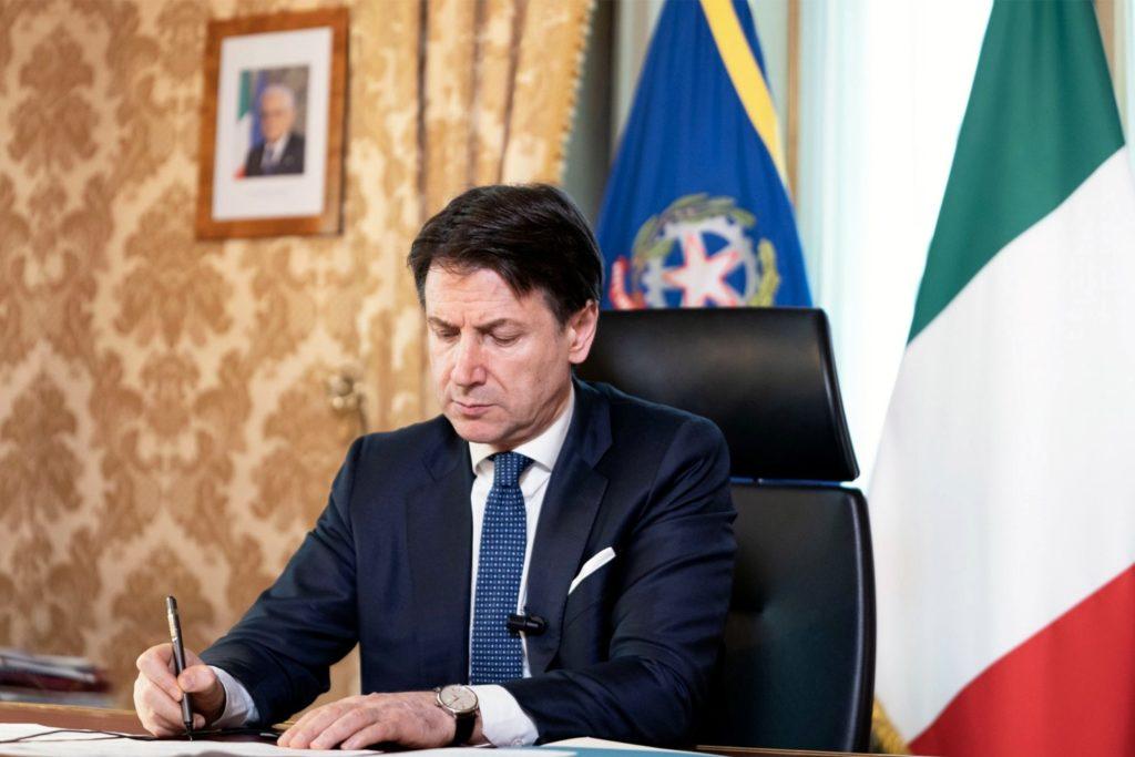 Il Presidente del Consiglio, Giuseppe Conte - foto Twitter ufficiale