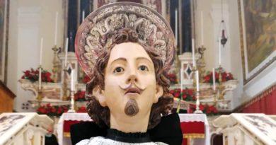 Statua Sant'Efisio - foto Arciconfraternita del Gonfalone di Sant'Efisio Martire