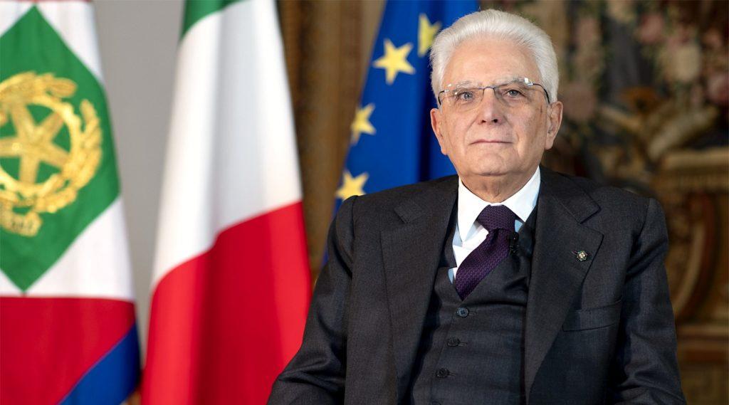 Il Presidente della Repubblica Sergio Mattarella - foto Twitter Quirinale
