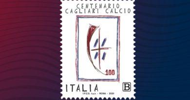 Cagliari, emesso lo speciale francobollo del Centenario