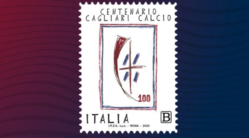 Francobollo Centenario Cagliari Calcio