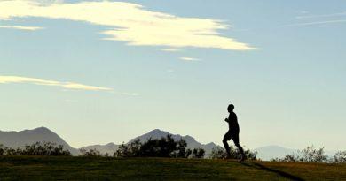 Jogging campagna montagna