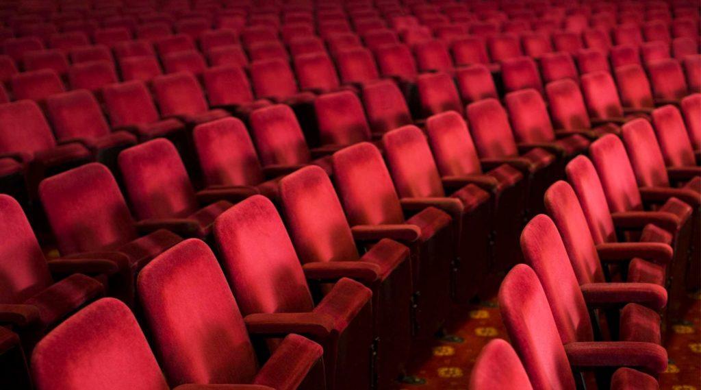 Sala vuota teatro cinema