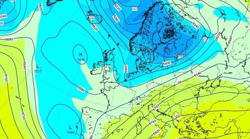 Previsioni meteo dall'11 al 17 maggio 2020
