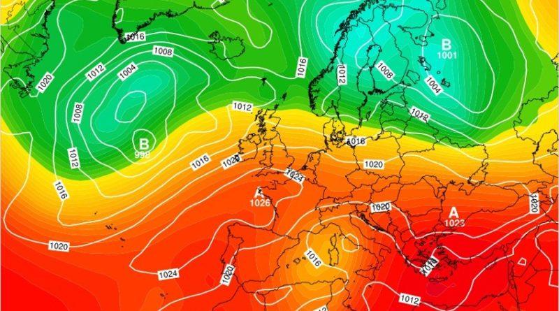 Previsioni meteo dal 18 al 24 maggio 2020