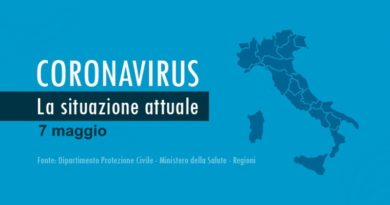 Coronavirus dati Italia e Sardegna 7 maggio 2020