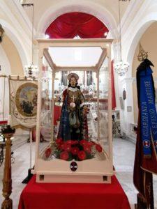 Teca Sant'Efisio - foto Arciconfraternita del Gonfalone di Sant'Efisio Martire
