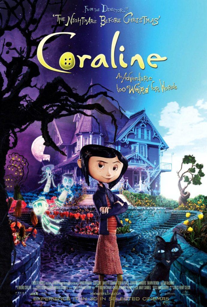 """Locandina """"Coraline e la porta magica"""""""
