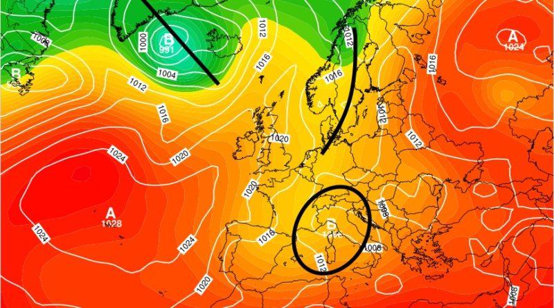 Previsioni meteo dall'8 al 14 giugno 2020