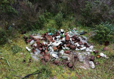 Decimoputzu, i cacciatori in prima linea contro l'abbandono dei rifiuti