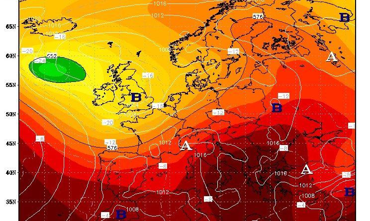 Tendenza meteo dal 26 luglio al 1 agosto 2021