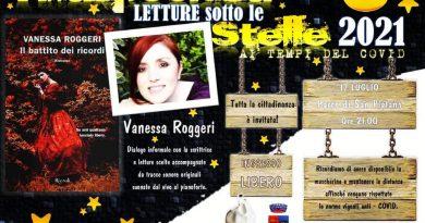 Villaspeciosa Parco San Platano, sabato 17 luglio VANESSA ROGGERI presenta il suo ultimo romanzo IL BATTITO DEI RICORDI
